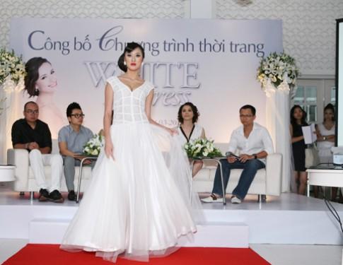 Đêm thời trang màu trắng đầu tiên tại TP HCM