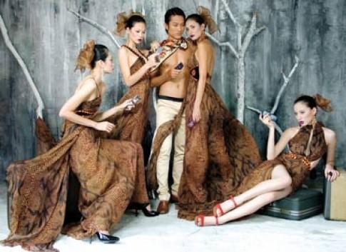 'Đẹp Fashion Show' - cảm hứng thời trang từ kiến trúc