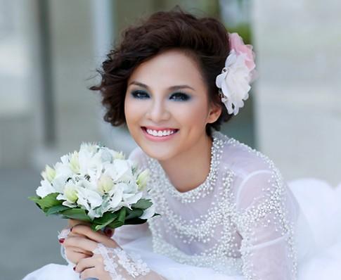 Diễm Hương mơ làm cô dâu