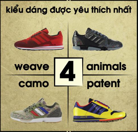 Đôi giày chạy mang phong cách đường phố