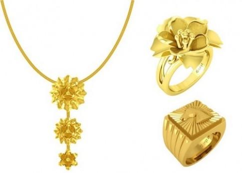 DOJI ưu đãi cho trang sức vàng 24k