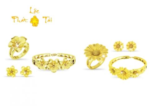 Dòng trang sức vàng 24K của DOJI