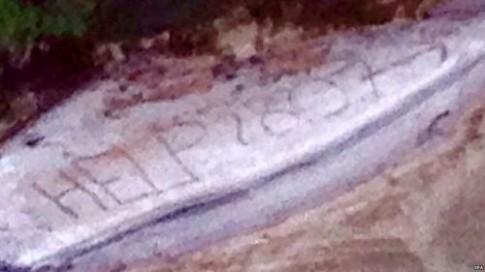 Du khách thoát chết nhờ lời kêu cứu để lại trên cát