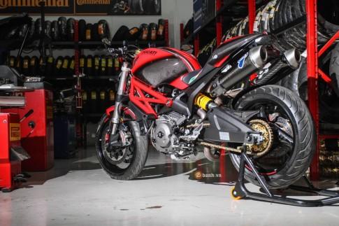 Ducati Monster 795 độ đồ chơi mạnh mẽ tại Thái Lan
