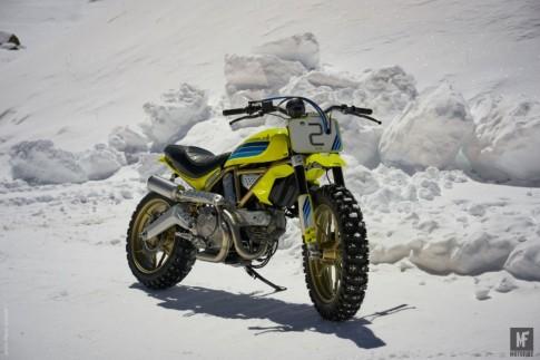 Ducati Scrambler Artika chiến binh đường tuyết