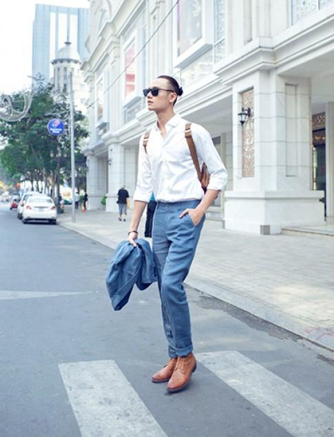 Duy Anh Next Top lãng tử trên phố Sài Gòn