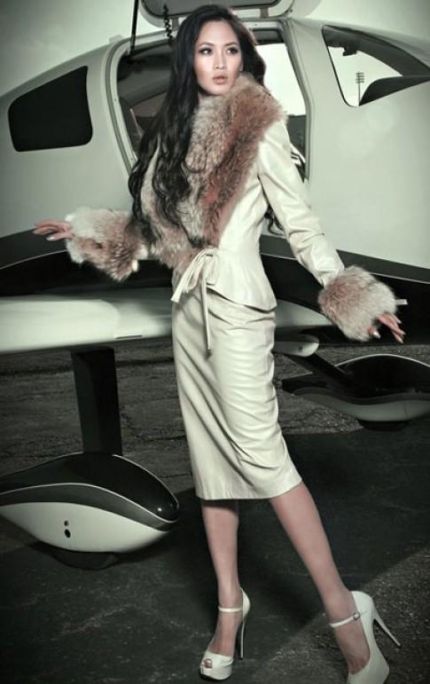 Elizabeth Thủy Tiên chấm thi 'VN's next top model'