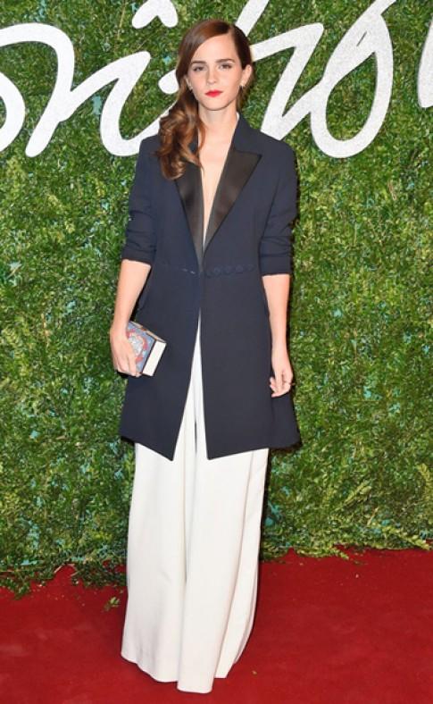Emma Watson được vinh danh 'Biểu tượng thời trang Anh'