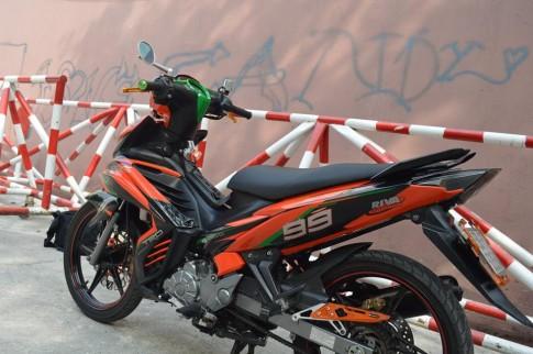 Exciter độ phiên bản Lorenzo chạy cho KTM