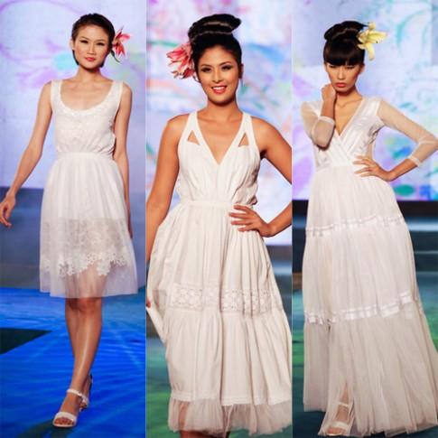 Gam màu tuyết sáng bừng tuần thời trang Việt