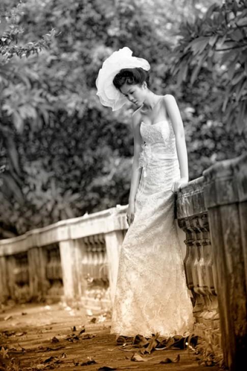 'Giấc mơ' của áo cưới Hạ My
