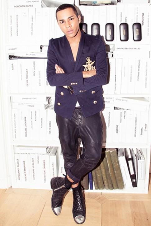 Giám đốc sáng tạo của Balmain khen cách nhái đồ của Zara
