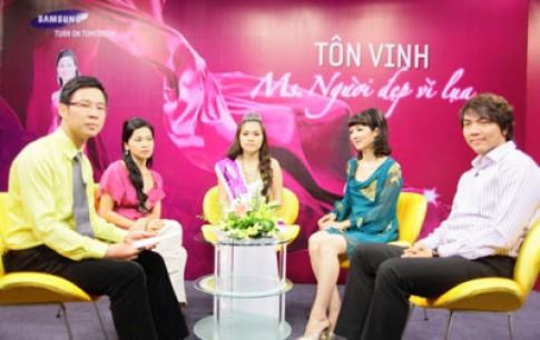 Giáng My, Ngô Thái Uyên trao giải 'Ms. Người đẹp vì lụa'