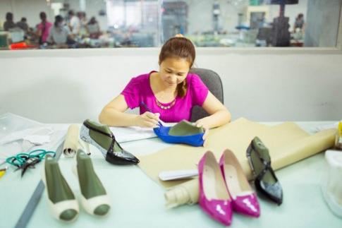Giày 'Made in Vietnam' chất lượng cao