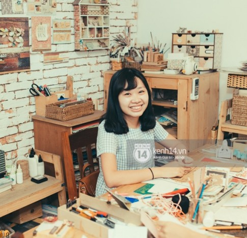 Giới trẻ Sài Gòn rộ mốt tự trang trí sổ scrapbook cực đáng yêu và siêu độc