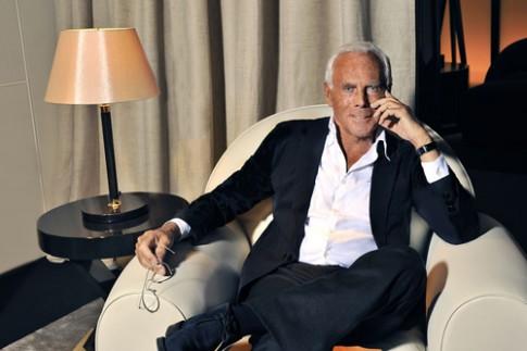 Giorgio Armani tức giận vì tổng biên tập Vogue bỏ xem show
