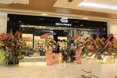 Giovanni mở gian hàng thứ 2 tại Vincom TP HCM