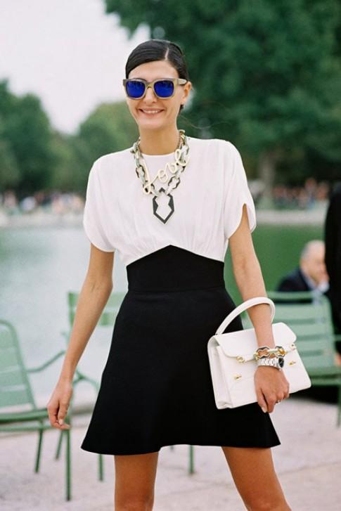 Gu mặc cá tính của nữ biên tập viên Vogue Italy