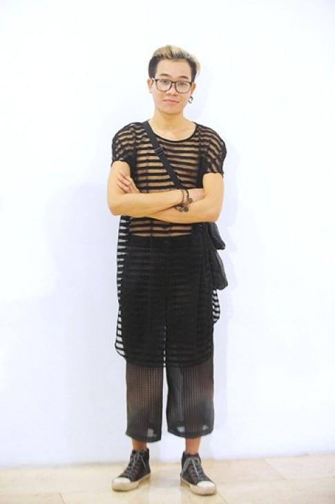 Gu mặc của các thí sinh dự thi thiết kế thời trang Việt Nam