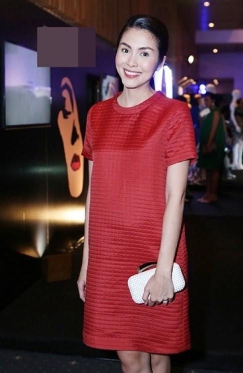 Gu thời trang bầu tinh tế của Tăng Thanh Hà