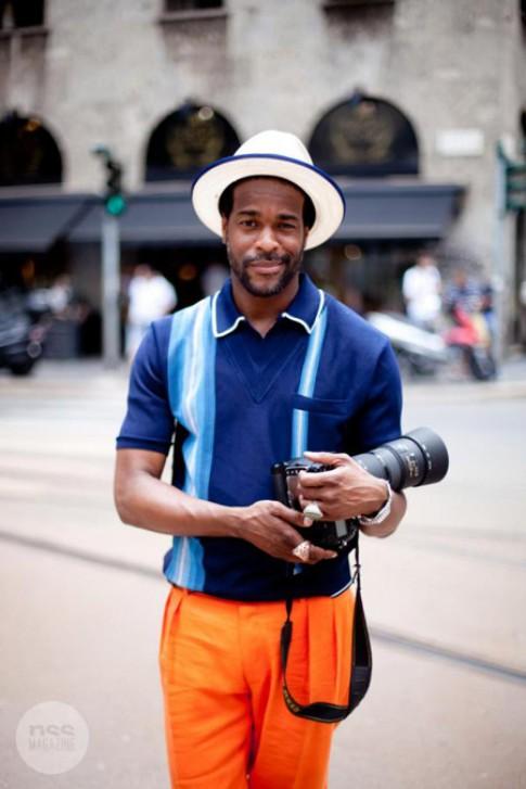 Gu thời trang sặc sỡ của nhiếp ảnh gia thời trang Vogue