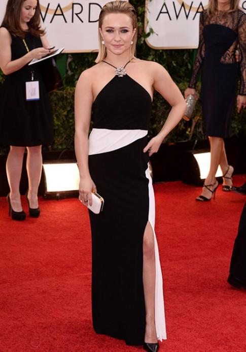 Hayden Panettiere bị từ chối cho mượn váy dự Quả Cầu Vàng