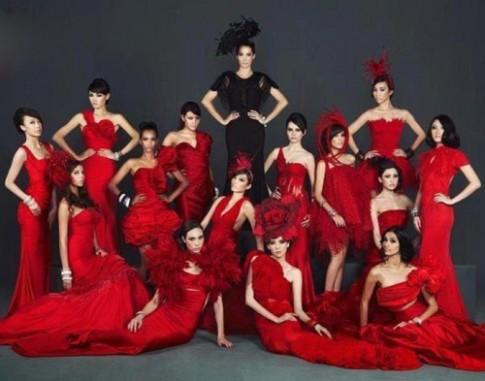 Hé lộ hình ảnh Thùy Trang tại Asia's Next Top Model