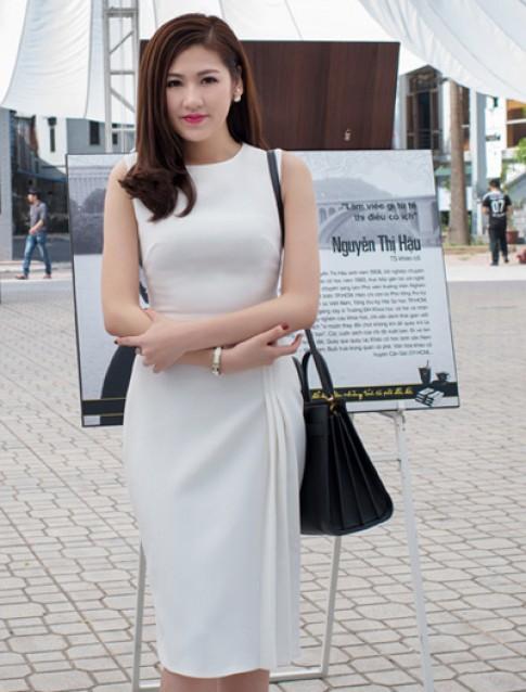 Hoa hậu, Á hậu Việt đọ sắc trắng ở sự kiện