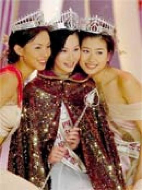 Hoa hậu Hong Kong 2004 và màn vấn đáp vui vẻ