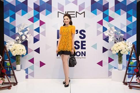 Hoa hậu Kỳ Duyên yêu thích thương hiệu NEM