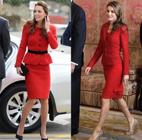 Hoàng hậu Tây Ban Nha đọ phong cách với Công nương Anh