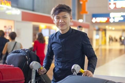 Hoàng Minh Hà sang Pháp dự tuần lễ thời trang