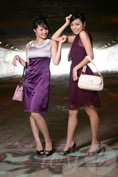 Hoàng Thùy Linh và Huỳnh Minh Thủy với thời trang Ivy