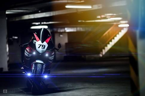 Honda CBR1000RR đẹp long lanh trong bộ ảnh đậm chất biker