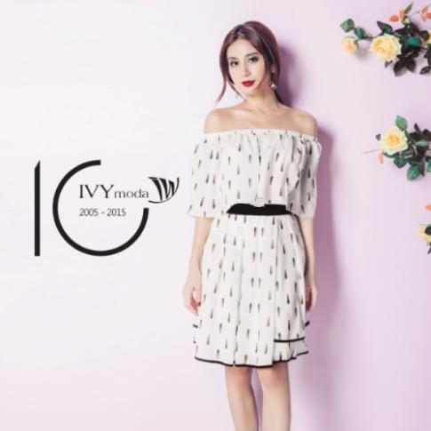 IVY moda ra mắt logo mới kỷ niệm 10 năm thành lập