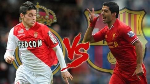 James Rodriguez và Luis Suarez: hợp đồng nào giá trị hơn?