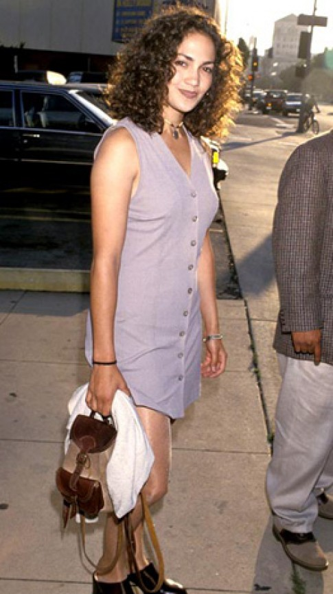 Jennifer Lopez thuở mặc xấu