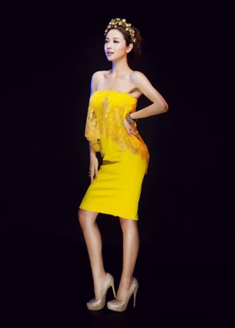 Jennifer Phạm cuốn hút với váy áo sang trọng