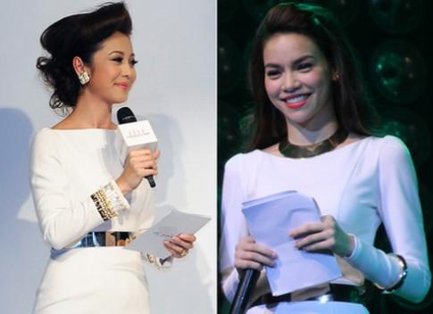 Jennifer Pham dien vay giong Ho Ngoc Ha
