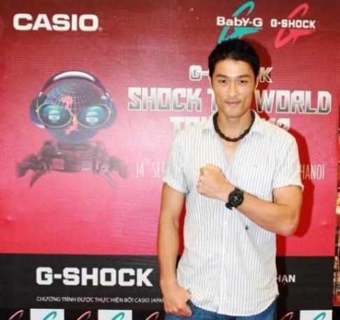Johnny Trí Nguyễn ấn tượng với G-Shock
