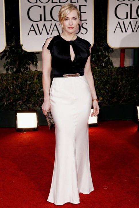 Kate Winslet mặc đẹp dù thân hình thiếu chuẩn