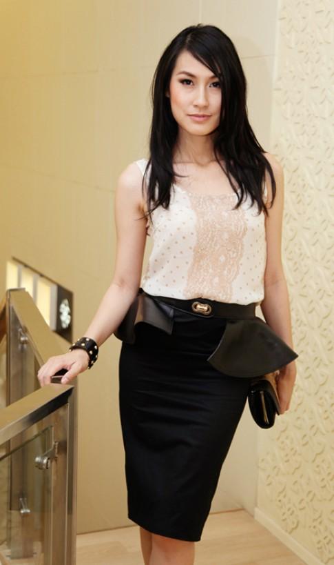 Kathy Uyên đọ dáng với người đẹp Next Top Model