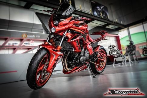 Kawasaki ER-6N độ độc đáo với phiên bản Red Monster
