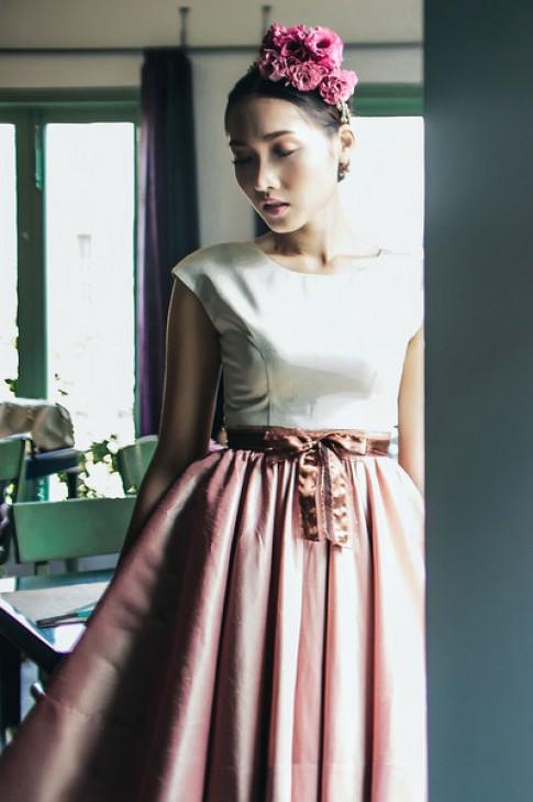 Khánh Ngọc mơ màng với váy công chúa