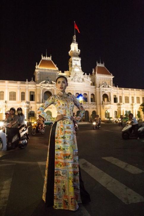 Khánh Ngọc thể hiện tình yêu Sài Gòn trong ảnh xuân