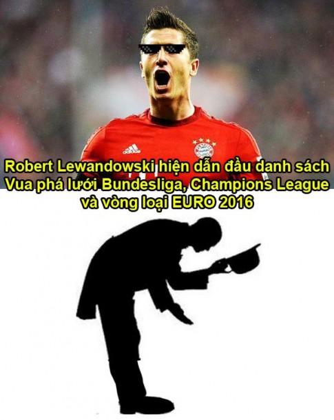 Không phải Ronaldo hay Messi, Lewandowski mới đang là chân sút đáng sợ nhất thế giới