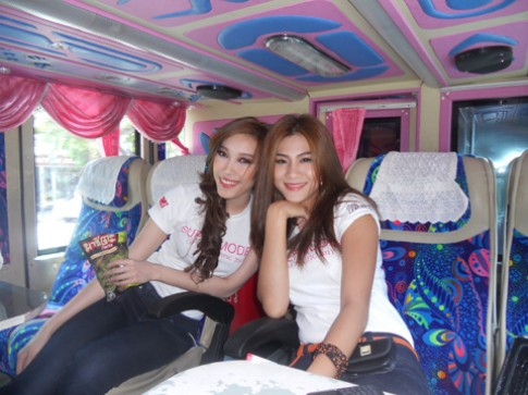 Kim Dung khoe tài nội trợ tại Siêu mẫu châu Á