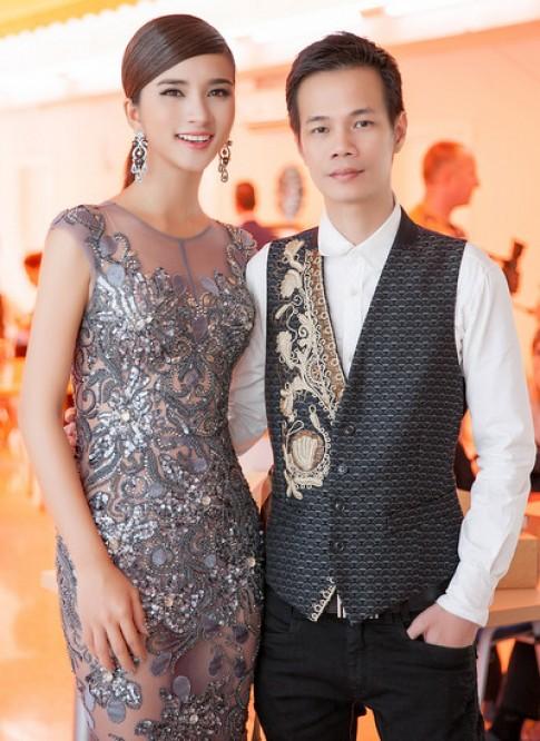 Kim Tuyến làm khách mời show Hoàng Hải
