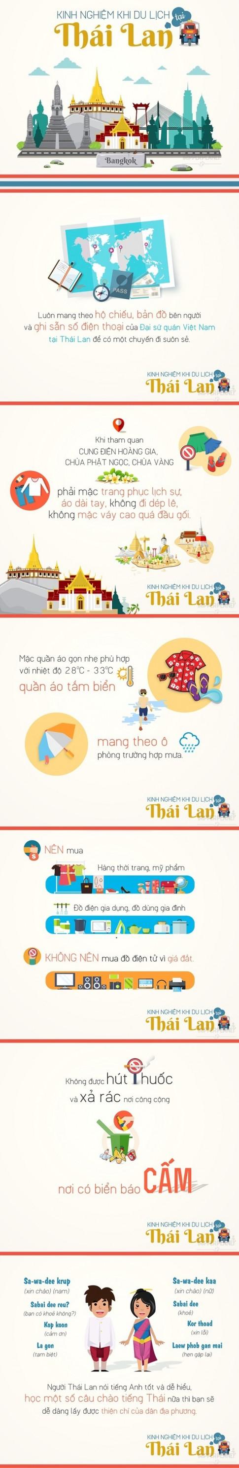 Kinh nghiệm bỏ túi khi du lịch Thái Lan