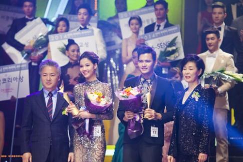 Kỳ Hân giành giải nhất Người mẫu trẻ châu Á